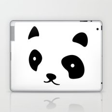 Minimalistic Panda face Laptop & iPad Skin