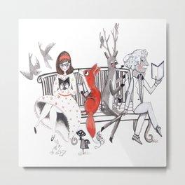 Elwood's Uncomfortable Stare Metal Print