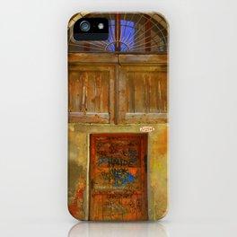 Graffiti Veneziano iPhone Case