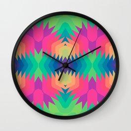 Indigena Fractal Wall Clock