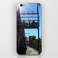oklahoma iPhone & iPod Skins featuring Oklahoma Ally by HmmCades