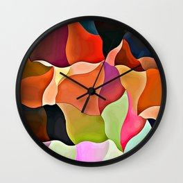 Wavyforme 5 Wall Clock