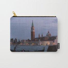 Venice Italy at Twilight Photography, Travel Italy Wall Art, Venetian Wall Art  Carry-All Pouch