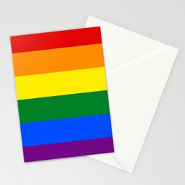 LGBT Pride Flag (LGBTQ Pride, Gay Pride) Stationery Cards