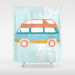 Jade - Van Life Series Shower Curtain