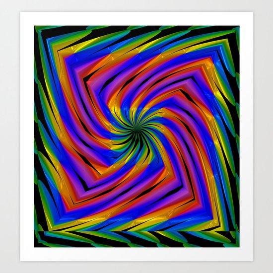 Spiral Art Print