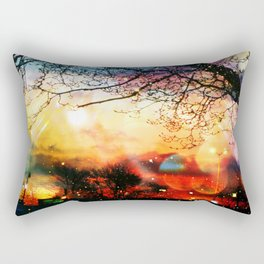 Rainbow Kisses Rectangular Pillow