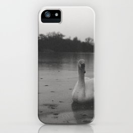 Witchcraft IV - Swan iPhone Case