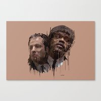 pulp Canvas Prints featuring Pulp! by Marcello Castellani