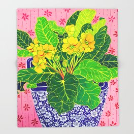 Primula Throw Blanket
