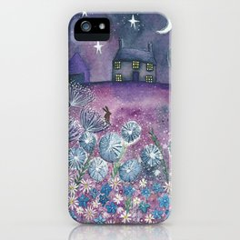 Watching the Stars iPhone Case