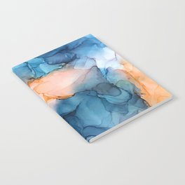 Captivate- Alcohol Ink Painting Notebook
