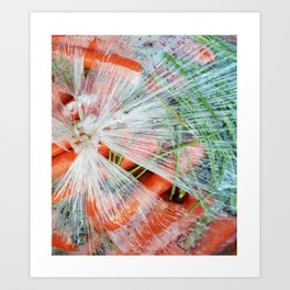 CHOKED - CARROT Art Print