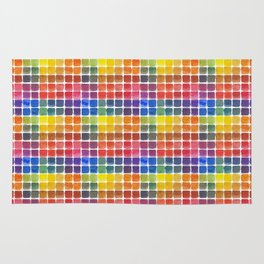 Mix it Up! - Watercolor Mixing Chart Rug