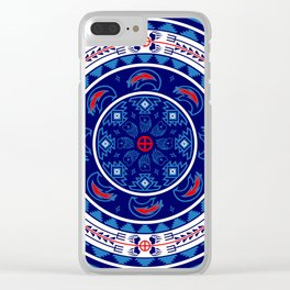 Bear Spirit Clear iPhone Case
