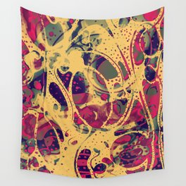 """Chlorine"" by Schizophrenic.NYC Wall Tapestry"