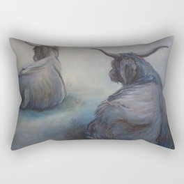 Misty Morning on Skye Rectangular Pillow