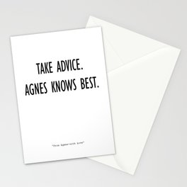 From Agnes-With Love Stationery Cards