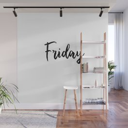 Friday fresh collection Wall Mural