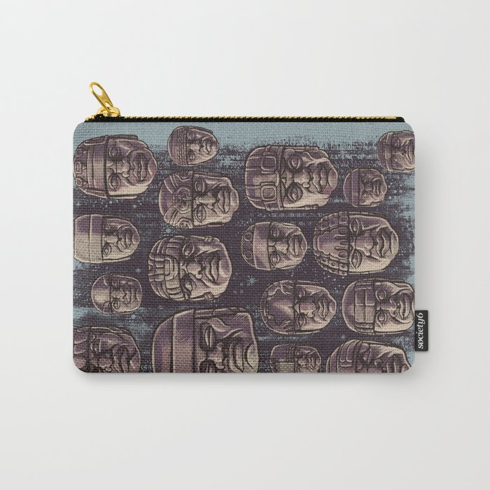 The Olmecs Carry-All Pouch