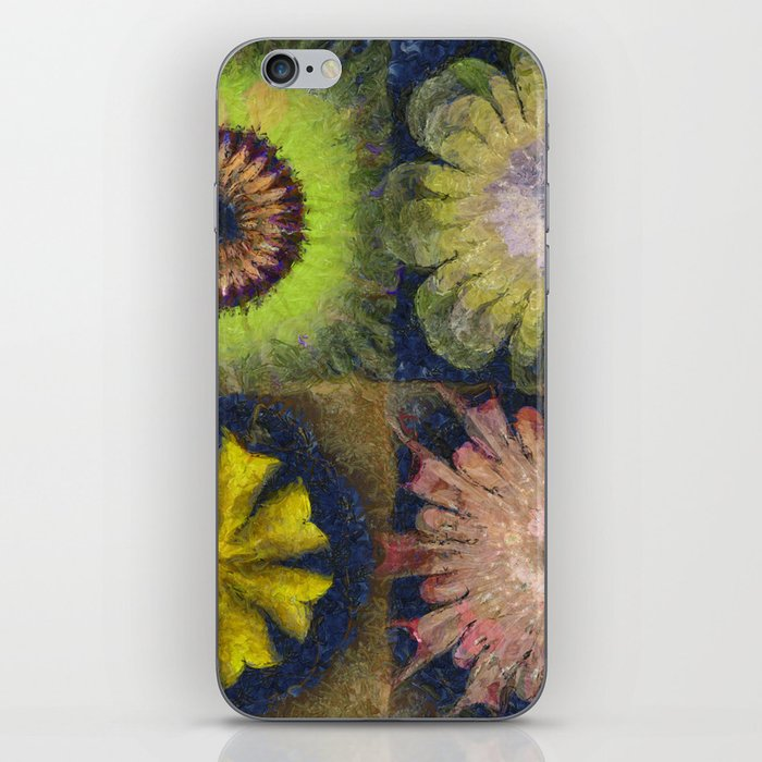 Methylator Structure Flowers  ID:16165-011604-36970 iPhone Skin