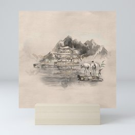 Japanese Serenity Landscape Mini Art Print