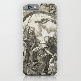 Albrecht Dürer - Christ in Limbo (1512) iPhone Case