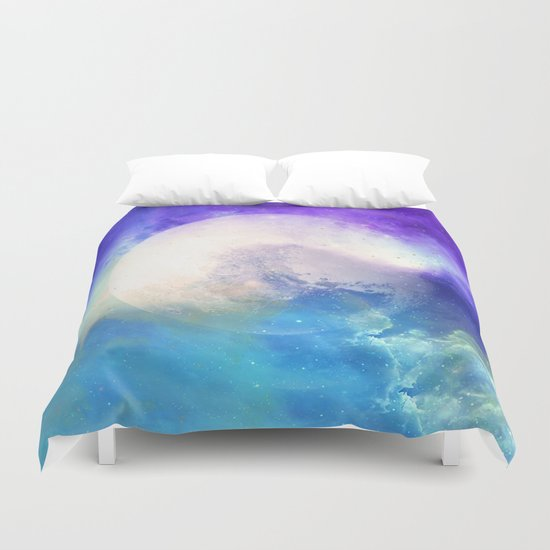 Silver Mirror Duvet Cover