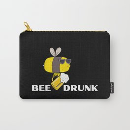 Bee Drunk, be cool, Coole Biene Carry-All Pouch