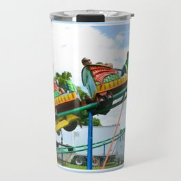 Chinese Dragon ride 2 Travel Mug