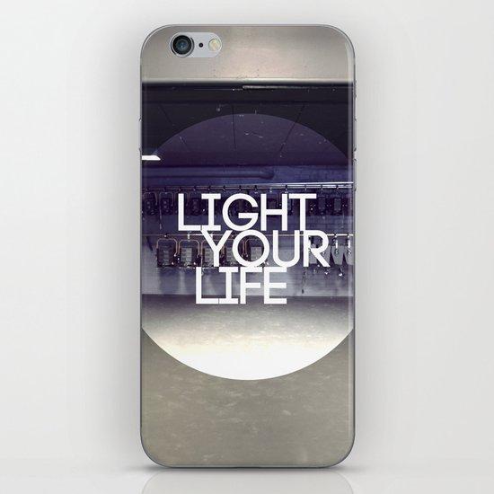 Light Your Life iPhone & iPod Skin