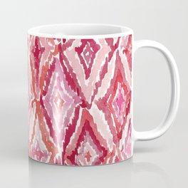 Red BRIGHT LIKE A DIAMOND Moroccan Print Coffee Mug