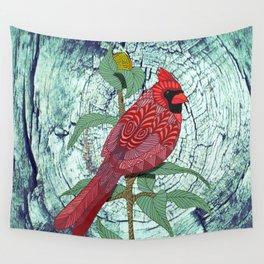 Virginia Cardinal Wall Tapestry
