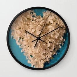 Fill My Heart Wall Clock