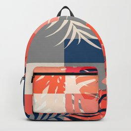 Tropical Puzzle Backpack
