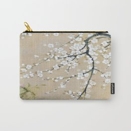 Japanese apricot flower painting,oriental,chinoiserie,korean painting Carry-All Pouch