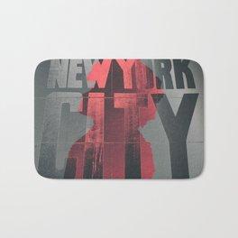 NEW YORK AFRO CITY Bath Mat