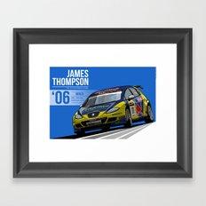 James Thompson - 2006 Monza Framed Art Print