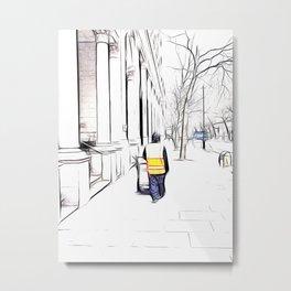 City Streets 3 Metal Print