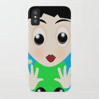 tom selleck iPhone & iPod Cases featuring Tom by lescapricesdefilles