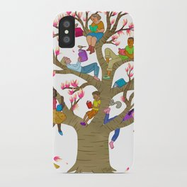 Tree Readers iPhone Case