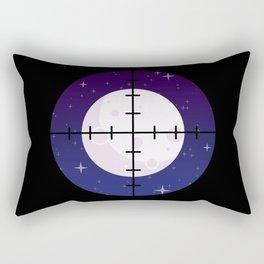 Aim for the Moon Rectangular Pillow