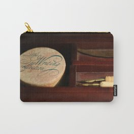 The Writing Desk 1 Carry-All Pouch
