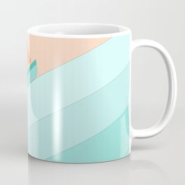 Boat on the Water #1 Coffee Mug