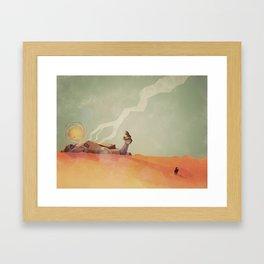 This Desert Is A Wasteland Framed Art Print