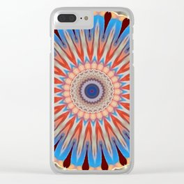 Some Other Mandala 53 Clear iPhone Case