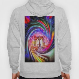 New York Brooklyn Bridge Hoody