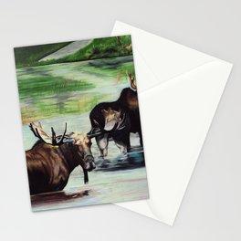 Calm Pond, Newfoundland Moose Stationery Cards