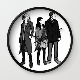 elementary: the diabolical kind Wall Clock