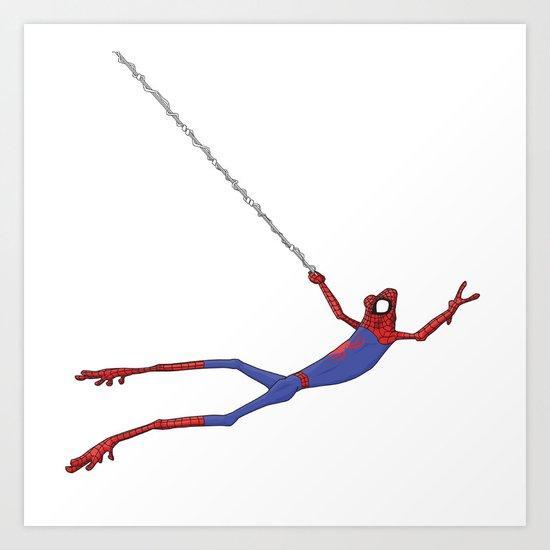 Spiderfrog Art Print